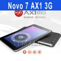3g gps 7inch tablet pc - Ainol NOVO AX1 G tablet PC Ainol NUMY G GSM G WCDMA Phablet Novo7 MTK8398 Quad core Tablet PC inch Android GPS Tablet PC bluetooth