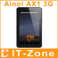 Wholesale Ainol Novo Numy AX1 G quot MTK8389 Quad Core Android Phone Call Bluetooth GPS Tablet PC GB ROM