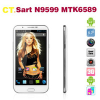 Wholesale Star N9500 N9599 Note III Quad Core MTK6589 Quad Core G Cell Phone quot QHD GB RAM G ROM Android MP H9500 S9500 N7200
