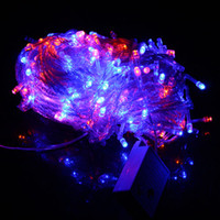 Wholesale 2014 Christmas Lights M LEDs LED Fairy String Lights Holiday Decorations Party Wedding Lights