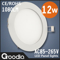 No 85-265V other Freeshipping 12w led panel lighting with round shell.AC85~265V,CE&ROHS,3014SMD,Cool white Warm white,Aluminum, led ceiling light