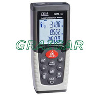 Wholesale Brand CEM LDM Digital Laser Distance Meter Volume Test m Measure Measuring