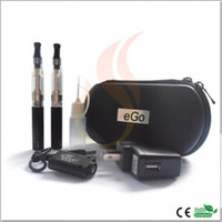 Electronic Cigarette Set Series  eGo CE4 Starter Kit 6-in-1 Double E-cigarette Set With 650mAh 900mAh 1100mAh Rechargable eGo-T Battery CE4 Atomizer eGo Zipper Carry Case