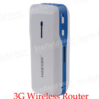Wholesale 3G Mobile Wireless Router Roster Power Bank Data Sharing WIFI Hotspo Broadband Power WIFI Hotspot Mini AP Triple For Smartphone WLAN S05