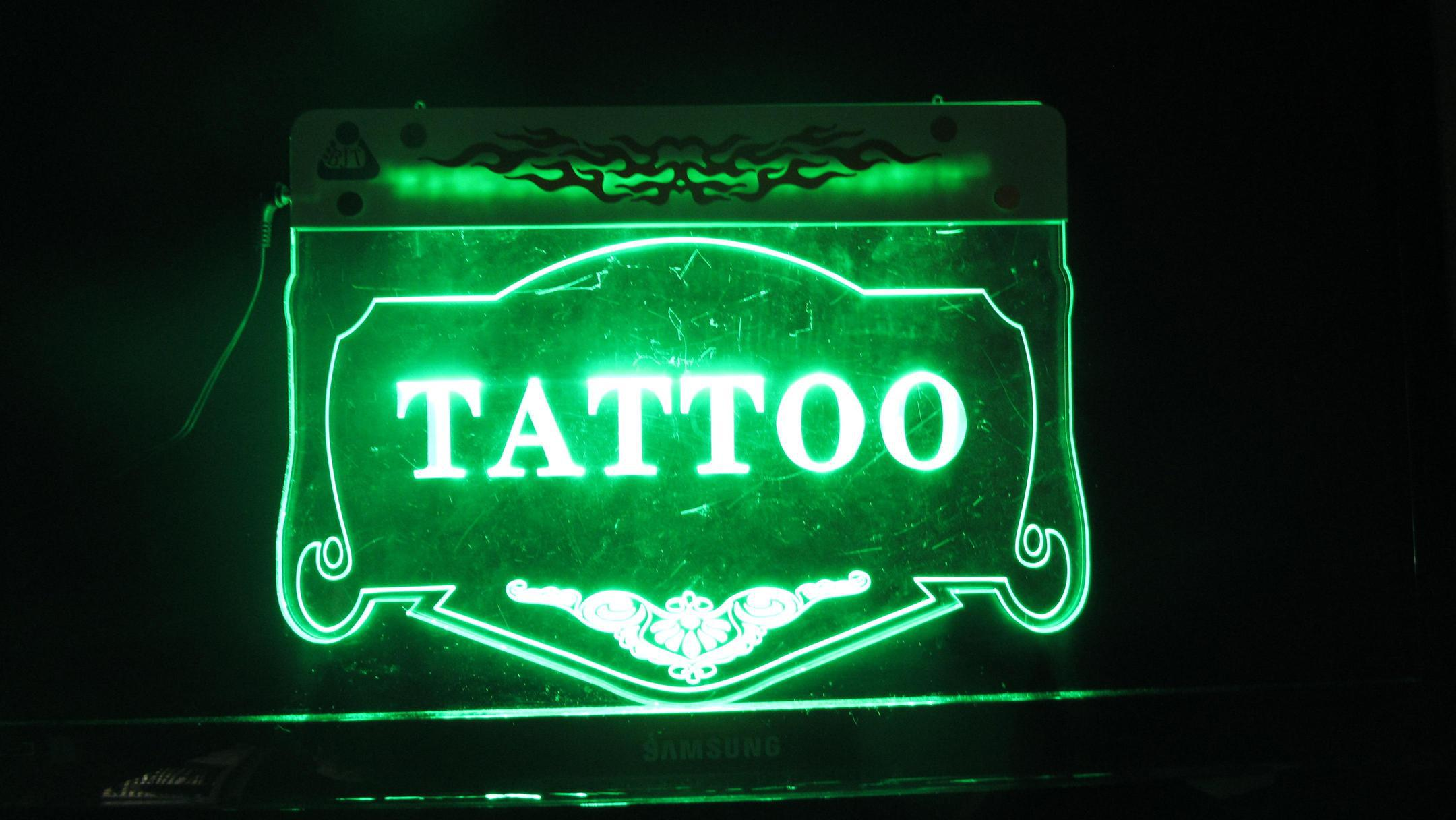 bjt led sign tattoo shop new neon sign tattoo light signs