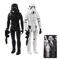 Wholesale 5 Set Star Wars White amp Black Stormtrooper Authentic PVC Action Figure Set of pc