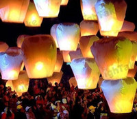 Holiday CCC,CE Valentie's Day Free Shipping Chineses Lantern Sky Lantern Kongming Lantern Flying Wishing Lamp Wedding Party Paper Lights(2pcs lot) 000110