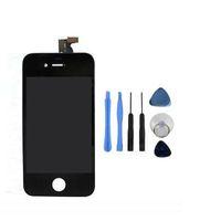 Pour iPhone 4 CDMA Noir Affichage LCD avec écran tactile Digitizer Cadre de remplacement Capot ouvert Outils Freeshipping