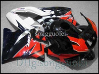 Comression Mold For Honda CBR600 F2 white black red ABS Fairing for CBR600F2 91 92 93 94 Body Fairing for Honda kit CBR600 CBR 600 F2 1991 1992 1993 1994 AG