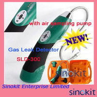 6 VDC (4XAA Battery) air leak sensor - High efficiency air sampling pump in g yr Ultimate Sensitivity Gas Leak Detector SLD with Replaceable nano sensor