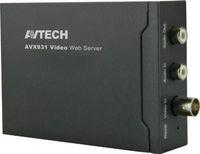 al por mayor servidor de cámara de vídeo-AVTECH AVX931A 1CH Video Web Server Convierte la cámara analógica tradicional en una cámara de red H.264 / MPEG4 / MJPEG en tiempo real