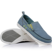 Wholesale 2013 new authentic Woer Lu Shi Walun Men s lightweight canvas shoes men set foot lazy breathable shoesnifei
