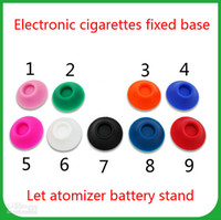 battery pole - Electronic cigarettes keep atomizer battery pole stand fixed base Silicone sucker