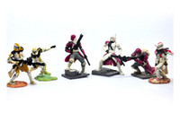 Wholesale EMS Star Wars Soldier Action Figure Toys Anime Cartoon PVC Figures Toy set