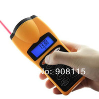 Wholesale ULTRASONIC TAPE MEASURE DISTANCE METER amp LASER POINTER DIGITAL TAPE MEASURE TD0119