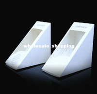 Paperboard sandwich packaging - Clear window Sandwiches Packaging Boxes