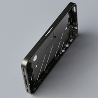 Wholesale For iPhone GSM Mid Cover Chassis Metal Frame Chrome Bezel HOUSING amp amp Tools set amp Freeshipping