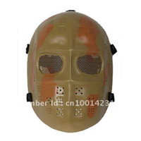 Wholesale Full Face Protection Well Airsoft Goggle System Bulletproof Mask for CS Equipment