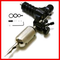 Wholesale Black Aircraft Aluminum Prodigy Rotary Motor Tattoo Machine Gun Shader Liner for Beauty Body Art Supply Hot Sale