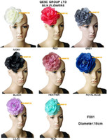 Tiaras&Crowns millinery - 15cm SOFT silk flower for millinery church hat sinamay fascinator with brooch pin hair clip colours can pick the color