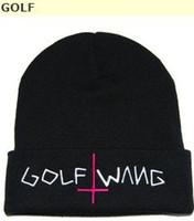Wholesale new golf wang beanie in grey fashion knit beanies headwear snapback hats caps streetwear hat cap