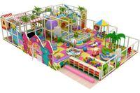 amusement equipment - New arrival child slide swing toy plastic indoor playground combination amusement equipment