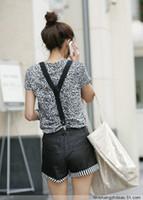 Wholesale Unisex Clip on Braces Elastic Y back Suspenders belt Black red yellow blue white hot pink green orange WY25 p