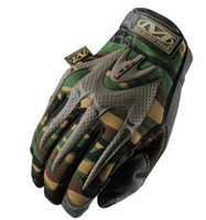 Wholesale pair new sale Mechanix Wear M PACT gloves Mechanic Gles Work Gloves Safety Gloves Wear M Pact Outdoor Sport Full Gloves