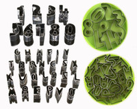 Metal fondant - Number Alphabet Letter Cake Fondant Decorating Cookies Cutter Sugarcraft Tools