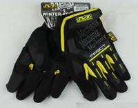 Wholesale New MECHANIX Wear Tactical Gloves for Combat Work Army Military Racing Leather Motocross Gloves Colors S XL