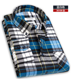 Wholesale 2013 new men s autumn casual shirt men s long sleeved shirt Slim wear Mao Gezi