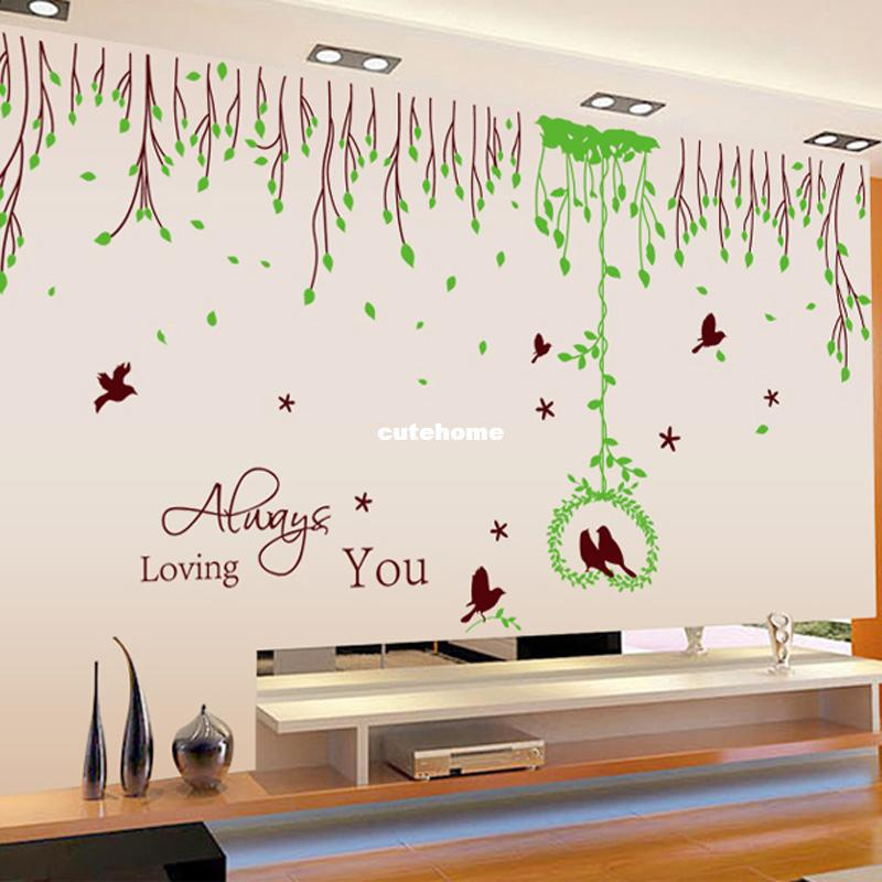 Room Wall Drawings Wall Stickers Living Room