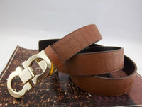 Wholesale genuine leather Belts men s belt leather belt Waistband