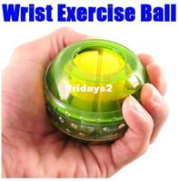 Wholesale Hot Gyro Wrist Arm Muscle Force Power Exercise Strengthen Massage Ball Trainer amp Drop Shipping