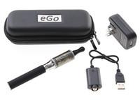 Cheap EGO 4-in-1 Electronic Cigarette Starter Kit With VIVI NOVA Atomizer USB Rechargeable eGo-T 650mAh 900mAh 1100mAh eGo Zipper Case