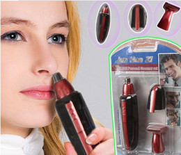 Wholesale 2 in1 Deluxe Nose Ear Hair Facial Trimmer Shaver Clipper Cleaner Washable