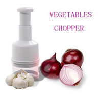 onion slicer - Kitchen Stainless Steel Vegetable Food Garlic Onion Slicer Chopper Cutter Tools