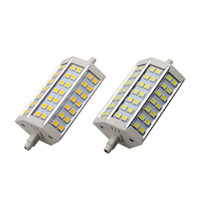 LED 10W IP44 Replace 100W Halogen Lamp 10W R7S 42 SMD 5050 Led Floodlight Bulb Lamp 85-265V Warm White 118mm