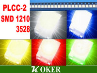 Wholesale color PLCC SMD SMTLED Withe Blue Green Yellow Red Ultra Bright LED