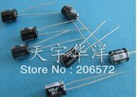 aluminum capacitors - 25v uf x7 DIP electrolytic capacitors