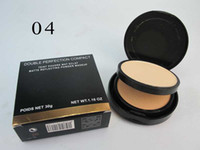 Wholesale Hot sale Brand Makeup Face Powder g DOUBLE PERFECTION COMPACT TEINT POUDRE MAT ECLAT MATTE REFLECTING POWDER