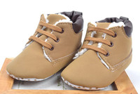 Girl Spring / Autumn Cotton 30%off Factory wholesale! Khaki casual baby straps, toddler shoes cheap shoes online baby wear shoes shop china shoes 8pairs 16pcs L