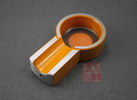 Wholesale Fashion creative ashtrays Cigar Lighter Cigar ashtray aviation aluminum wood smoke cigar supplies gift supplies