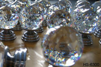 Wholesale Shiny crystal cut faces ball knobs In STOCK Try more you will know our cheap on price and EXpress
