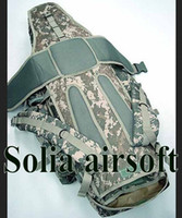 Unisex army acu backpack - ACU Color military army molle backpack big capacity outdoor travel rifle bag