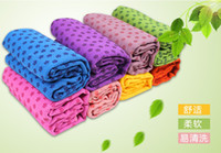 Wholesale 10pcs Fedex Health Care Skidless Yoga Towel Yoga Mat Non slip Yoga Mats for Fitness Yoga Blanket
