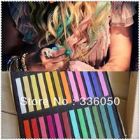 Wholesale Temporary Hair Chalk Fashion Hair dye Have Colors Fashion Hot Fast Non toxic Temporary Pastel Hair Dye Color Chalk DHL