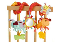 Unisex other  Free shipping 1 pcs Elc brand multifunctional baby bed hanging car hanging newborn babay toy,Cheap Baby Rattles baby