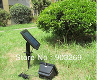 Wholesale New led Solar powered flood light led solar lamp spotlights Landscape lights outdoor flood light