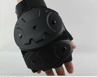 Wholesale pairs Man gloves tactical Gloves solf shell Leather Gloves Army Sports Gloves cool Swat boxing casualgloves black color